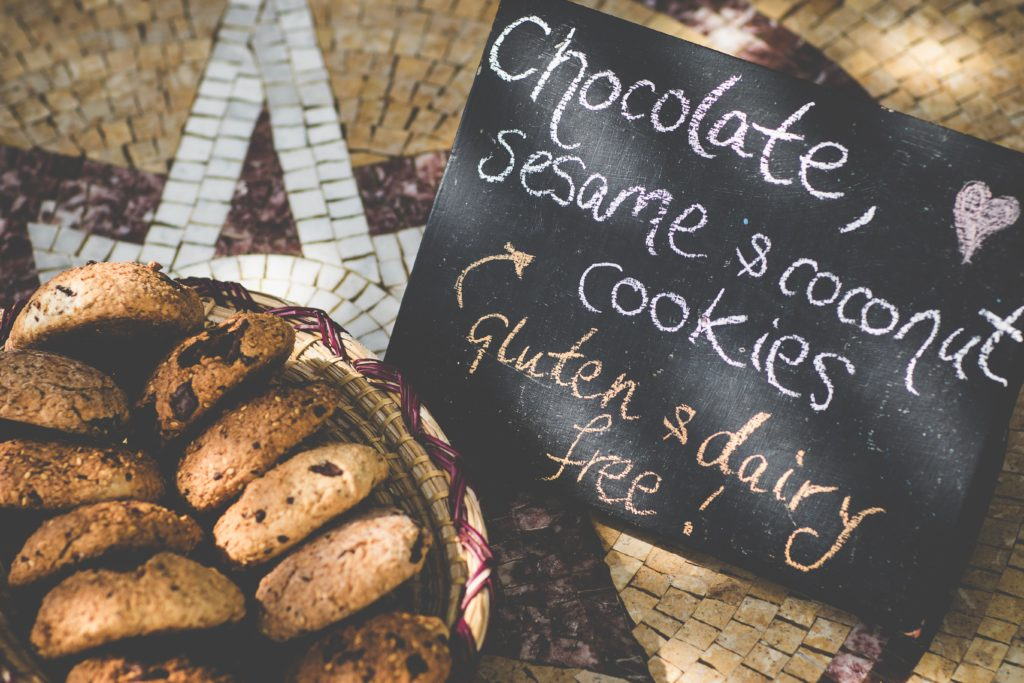 Villa Mandala serves incredible food, including these plump cookies